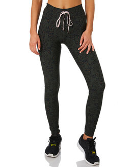 ARMY LEOPARD WOMENS CLOTHING THE UPSIDE ACTIVEWEAR - USW319008ARMLP
