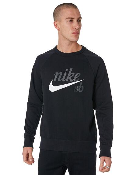 BLACK MENS CLOTHING NIKE JUMPERS - 886092011