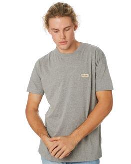 GREY MELANGE MENS CLOTHING NUDIE JEANS CO TEES - 131613B04