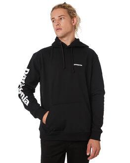 BLACK MENS CLOTHING PATAGONIA JUMPERS - 39566BLK