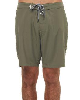 VINTAGE OLIVE MENS CLOTHING RHYTHM BOARDSHORTS - JAN18M-TR07OLI