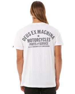 WHITE MENS CLOTHING DEUS EX MACHINA TEES - DMW41808AWHI