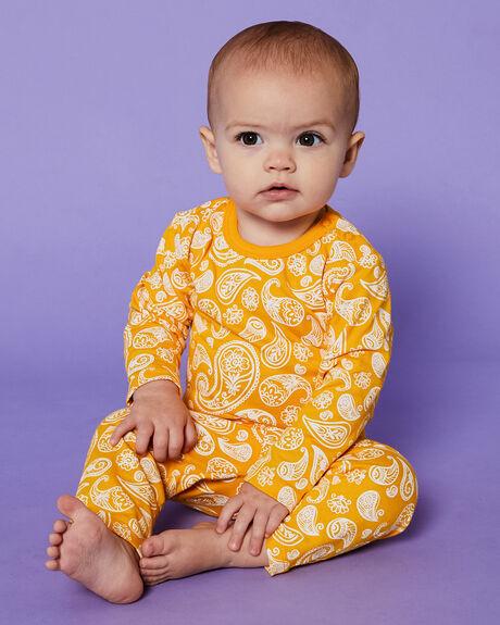 PAISLEY ORANGE KIDS BABY PUMPKIN PATCH CLOTHING - 20B7007BSPAISL