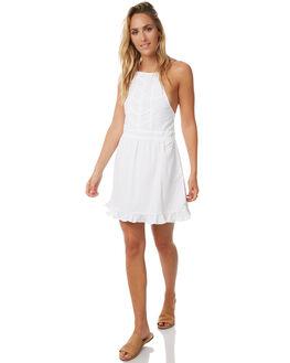 WHITE WOMENS CLOTHING RUE STIIC DRESSES - S118-13WHT