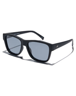BLACK RUBBER MENS ACCESSORIES LE SPECS SUNGLASSES - LSP1902022BLKR