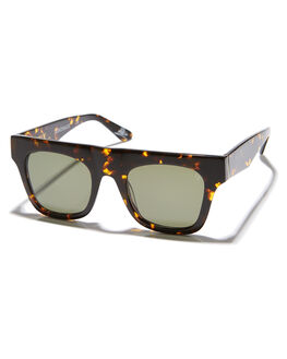TORTOISE WOMENS ACCESSORIES VIEUX EYEWEAR SUNGLASSES - VX006CTRT