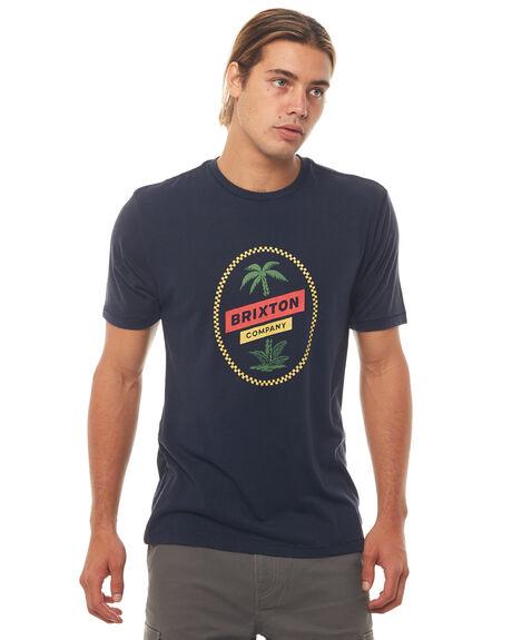 NAVY MENS CLOTHING BRIXTON TEES - 06794NAVY