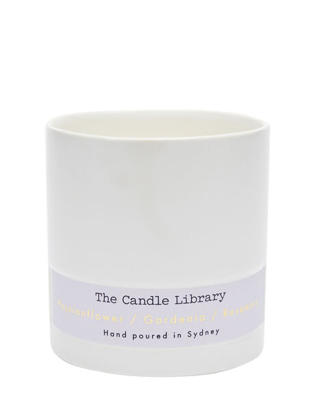 GARDENIA ROSEMARY WOMENS ACCESSORIES THE CANDLE LIBRARY HOME + BODY - 3BBCL06LPUR