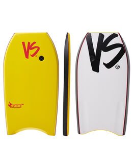YELLOW WHITE SURF BODYBOARDS VS BODYBOARDS BOARDS - V18FLAME38YEYELWH