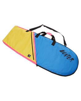 BLUE YELLOW SURF HARDWARE CATCH SURF BOARDCOVERS - BDBGBLYL