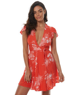 FLAME WOMENS CLOTHING ROLLAS DRESSES - 12415FLA