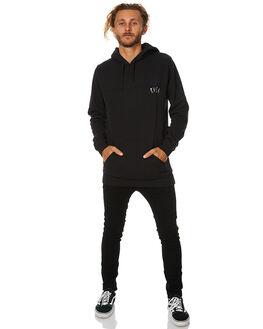 BLACK MENS CLOTHING RVCA JUMPERS - R174151BLK