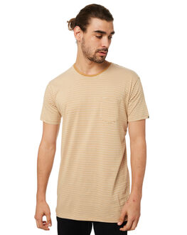 BEIGE MENS CLOTHING SILENT THEORY TEES - 40X0009BEIG