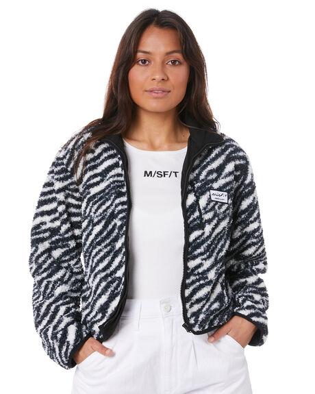 ZEBRA WOMENS CLOTHING MISFIT JACKETS - MT105704ZEBRA
