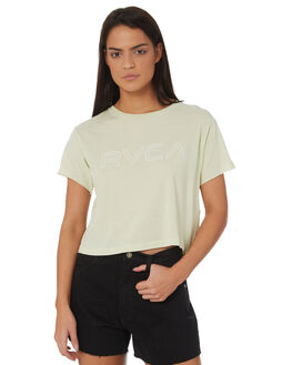 MINT WOMENS CLOTHING RVCA TEES - R271685MINT