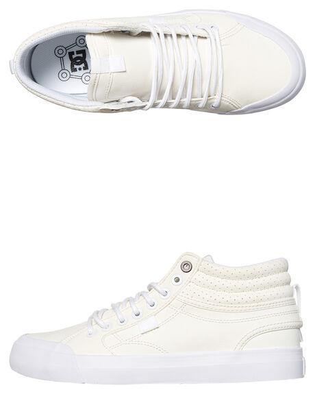 WHITE WOMENS FOOTWEAR DC SHOES SNEAKERS - ADJS300182WHT