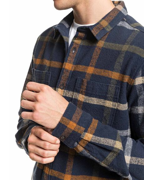 BLUE NIGHT MENS CLOTHING QUIKSILVER SHIRTS - EQYWT03964-BST1