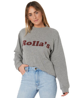 GREY MARLE WOMENS CLOTHING ROLLAS JUMPERS - 12914-050