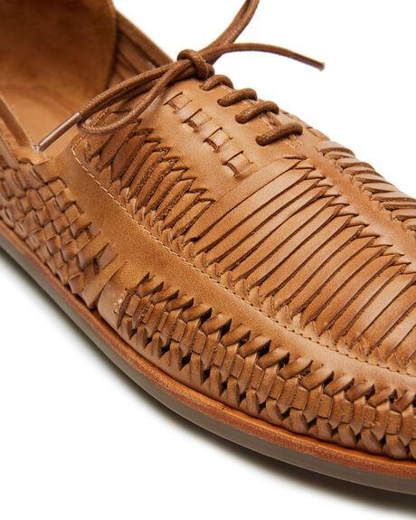 TAN OILY MENS FOOTWEAR URGE FASHION SHOES - URG20038TOIL