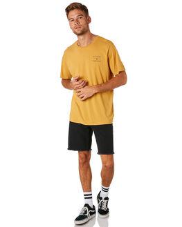 MUSTARD MENS CLOTHING AFENDS TEES - M183010MUST