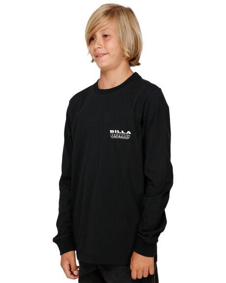 BLACK KIDS BOYS BILLABONG TOPS - BB-8591174-BLK