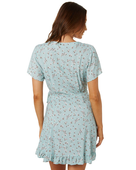 PALE AQUA OUTLET WOMENS RUSTY DRESSES - DRL1030PAA