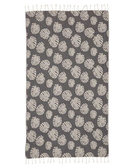 CHARCOAL MENS ACCESSORIES MAYDE TOWELS - 19SEACCHACHA