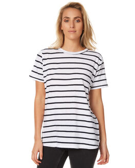 STRIPE WOMENS CLOTHING ASSEMBLY TEES - AW-S1710STR