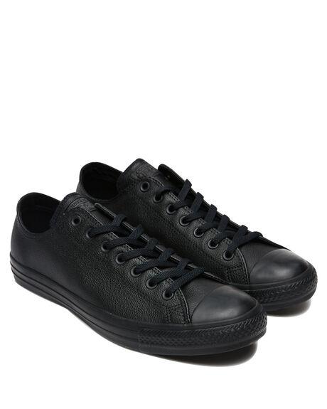 BLACK MONOCHROME MENS FOOTWEAR CONVERSE SNEAKERS - SS135253BLKMOM