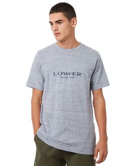 GREY MARLE OUTLET MENS LOWER TEES - LO18Q3MTS04GRYM