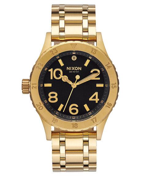 GOLD BLACK SUNRAY MENS ACCESSORIES NIXON WATCHES - A41020422042