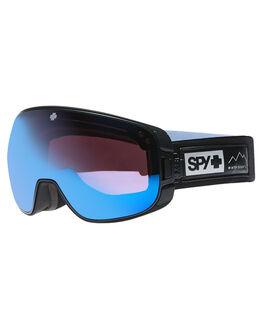 BLACK DARK BLUE BOARDSPORTS SNOW SPY GOGGLES - 313222139622BLKDB