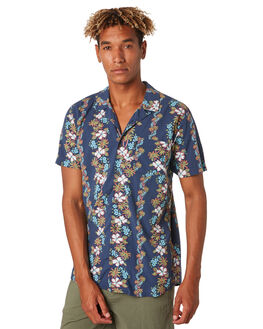 NAVY MENS CLOTHING RIP CURL SHIRTS - CSHNT10049
