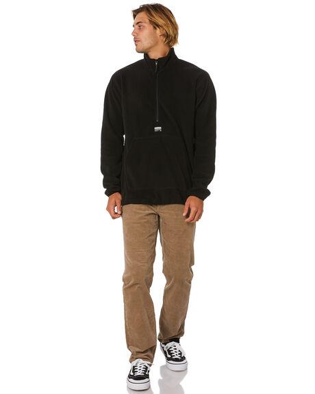 BLACK MENS CLOTHING VOLCOM JUMPERS - A4631912BLK