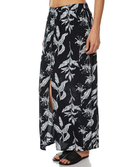 ANTHRACITE WOMENS CLOTHING ROXY SKIRTS - ERJWK03028KVJ8