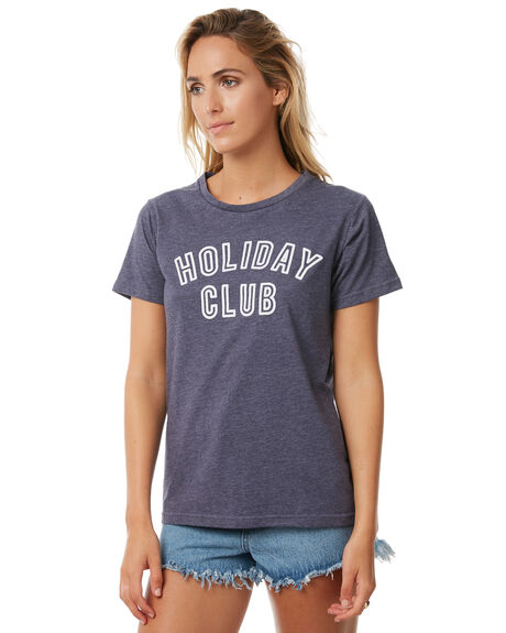 NAVY WOMENS CLOTHING TEE INK TEES - CAST87ANVY