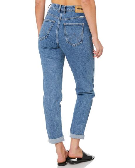 ISLA BLUE WOMENS CLOTHING WRANGLER JEANS - W-950161-P94ISLA