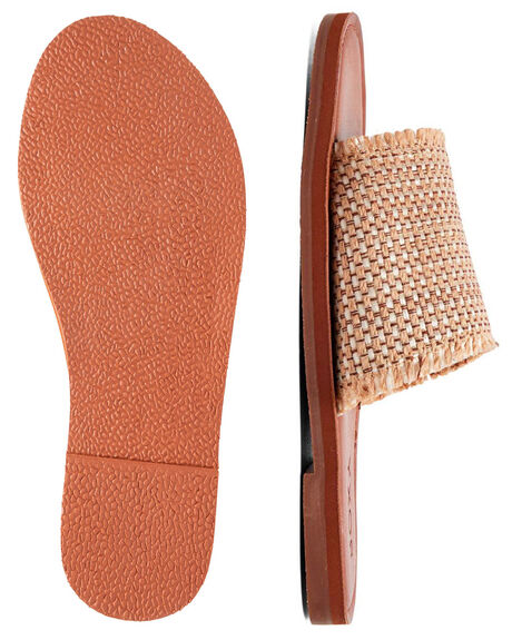 TAN/GOLD WOMENS FOOTWEAR ROXY FASHION SANDALS - ARJL200654-TG1