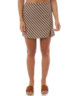 PRINT WOMENS CLOTHING ZULU AND ZEPHYR SKIRTS - ZZ1814PRI