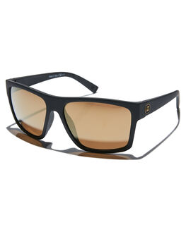 BLACK SATIN GOLD MENS ACCESSORIES VONZIPPER SUNGLASSES - SMSDIPBKDBLKSG