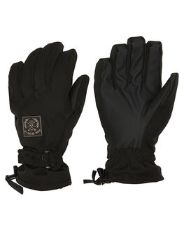 BLACK BOARDSPORTS SNOW POW GLOVES - XGG-A-S-HIP-BKBLK