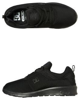 BLACK WOMENS FOOTWEAR DC SHOES SNEAKERS - ADJS7000253BK
