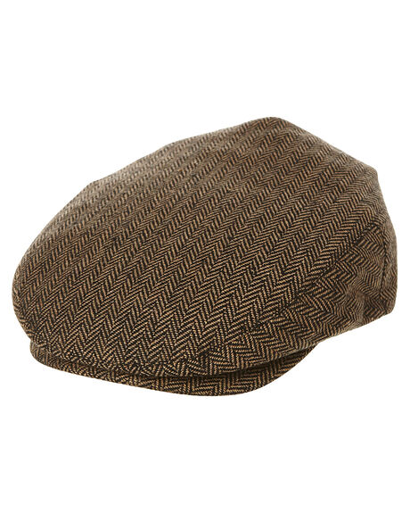 BROWN KHAKI MENS ACCESSORIES BRIXTON HEADWEAR - 410-00005-0402BRKH