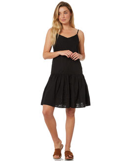 BLACK WOMENS CLOTHING THE HIDDEN WAY DRESSES - H8184443BLACK