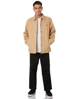 BROWN BLACK MENS CLOTHING CARHARTT JACKETS - I02672307E