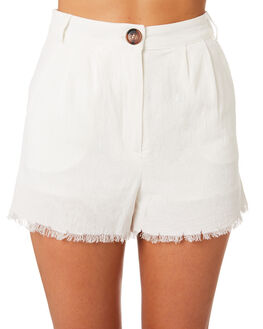 OFF WHITE WOMENS CLOTHING MINKPINK SHORTS - MP1806630WHITE