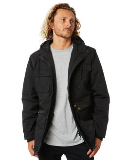BLACK MENS CLOTHING DEPACTUS JACKETS - D5194383BLACK