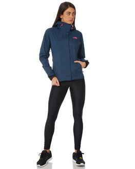 INK BLUE WOMENS CLOTHING THE NORTH FACE JACKETS - NF0A2VCR40QINKB