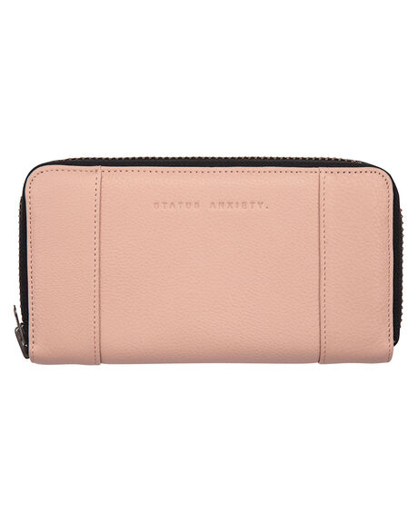 DUSTY PINK WOMENS ACCESSORIES STATUS ANXIETY PURSES + WALLETS - SA1366DSTPK