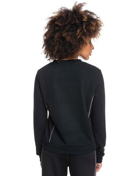 ANTHRACITE WOMENS CLOTHING ROXY HOODIES + SWEATS - ERJFT04451-KVJ0